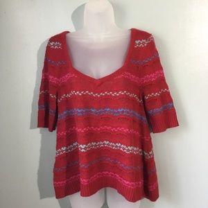 Free People wool angora blend sweater